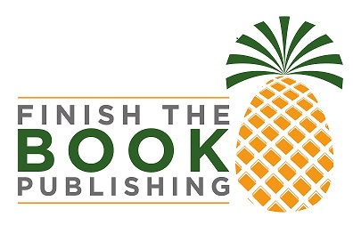 image of finish the book publishing logo featuring a pineapple