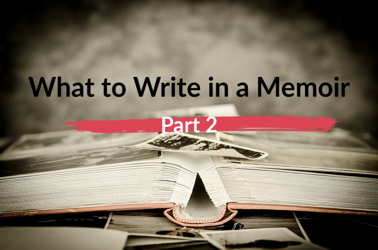 what not to write in a memoir